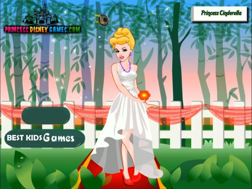 Disney Princess Cinderella Wedding Dress Up Games : Disney princess games cinderella s wedding dress