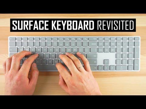 Surface Keyboard Revisited: Elegantly Mediocre