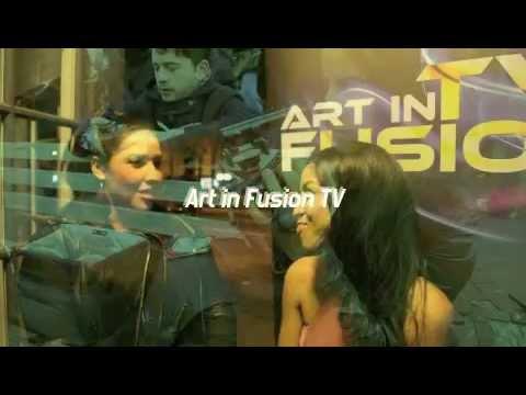 ART IN FUSION TV LOS ANGELES Ruth Hernandes interview LISA TUCKER