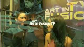 ART IN FUSION TV LOS ANGELES Ruth Hernandes interview LISA TUCKER