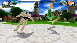 Fusion Syn Shenron and Shenron : Shenron Z Warrior VS Gogeta ssj4 (Dragon Ball Z Tenkaichi 3 mod)