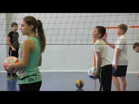 Открытый урок по волейболу 6 класс видео