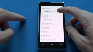nokia Lumia 925 - Screenshot & hard reset