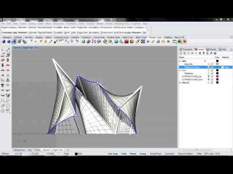 125 - Rhino - Phillips Pavilion Analysis Drawing Render Setup 04