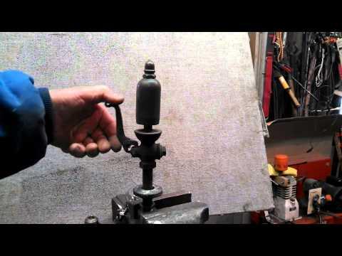 Lunkenheimer 1 1/2 Brass Steam Whistle Sound