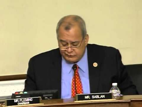 Del. Sablan's Opening Statement at hearing on oil & gas activity on wildlife refuges