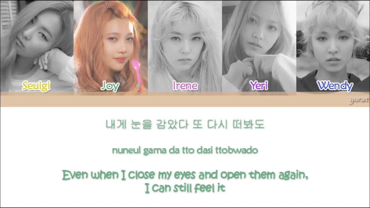 red velvet 레드벨벳 automatic color coded han rom eng lyrics