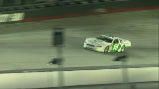 Fight breaks out in race at Bristol Motor Speedway, while local favorite Reeves raced to victory