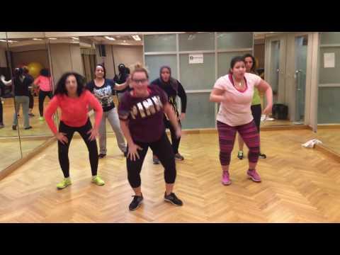Zumba class  I wanna dance with somebody  Fatman Scoop
