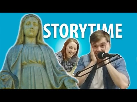 Terrified of the Virgin Mary! GHOST STORIES feat Tom Moran | STORYTIME
