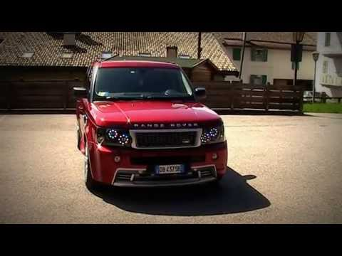 Range Rover Sport Hst With Led Drl Headlight Conversion