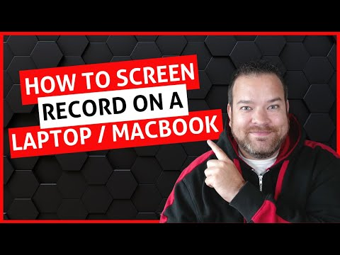 How To Screen Record On Laptop | How to Screen Record on Macbook | King of Video