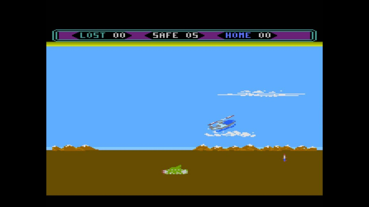 Image result for choplifter atari