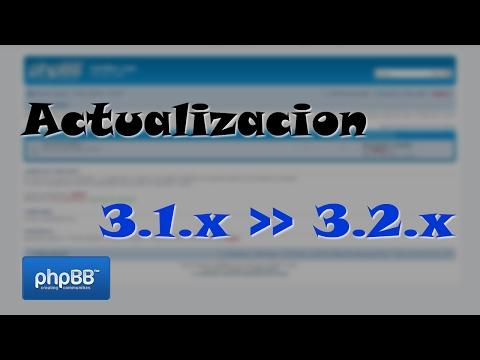 [Tutorial] Actualización de phpBB 3.1 a 3.2