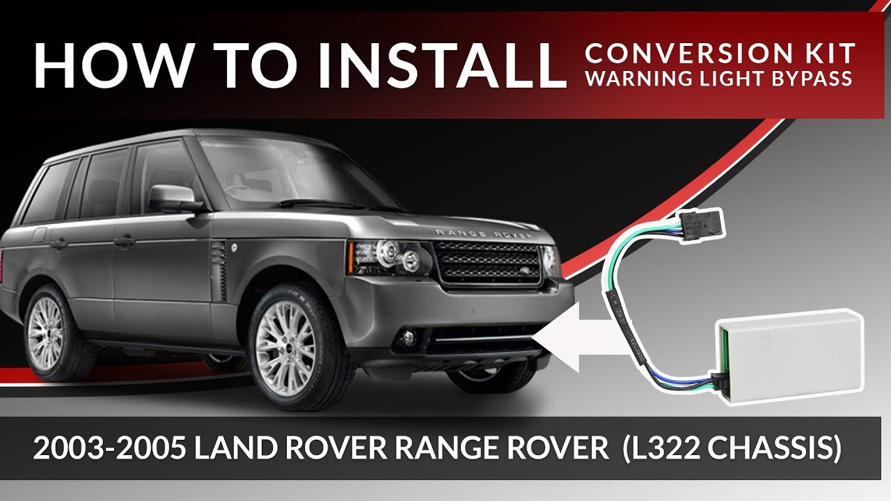2003-2005 Range Rover L322 | How to Install Warning Light Removal Module