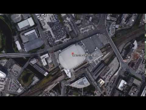 GOOGLE MAP   Manchester Arena in Manchester, England