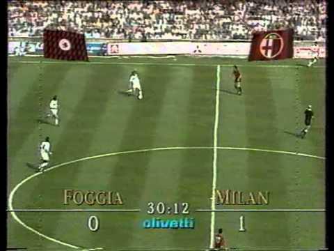 Calcio League 1991-92: Foggia x Milan