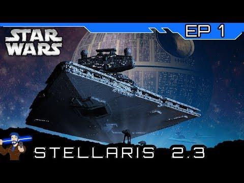 The Empire Returns! Stellaris Star Wars Mod - The Galactic Empire #1