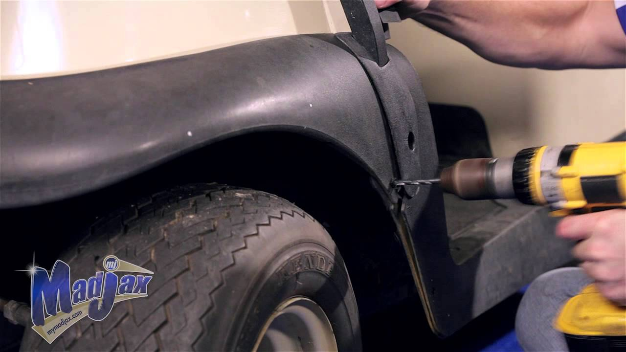 Fender Flares For Club Car Precedent How To Install Video