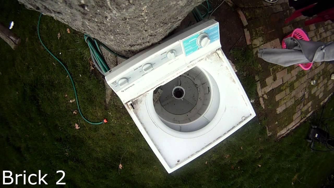wash machine brick