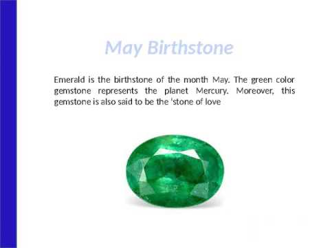 Birthstone Chart List Of For Each Month