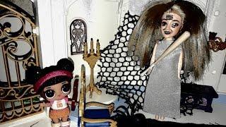 Кукла Лол попала в дом бабушки Гренни