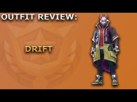 Drift Outfit Review + Skin Showcase! ~ Fortnite Battle Royale