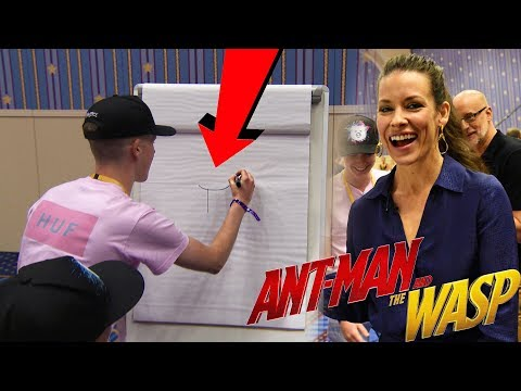 """PICTIONARY CHALLENGE with """"Ant-Man and The Wasp""""!!!"""
