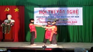 Tiết mục múa ''Lời ru Âu Lạc'' mừng 20/11/2013 của 9/1 THCS Trần Hưng Đạo - Biên Hòa