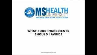 Foods to Avoid for a Healthy Multiple Sclerosis (MS) Diet