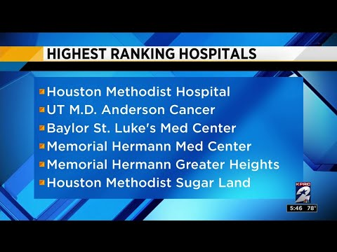 Health Headlines: Houston's highest ranking hospitals