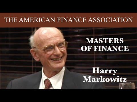 Masters of Finance: Harry Markowitz
