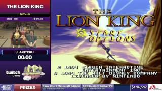 The Lion King by Akiteru in 15:03 - SGDQ2017 - Part 18