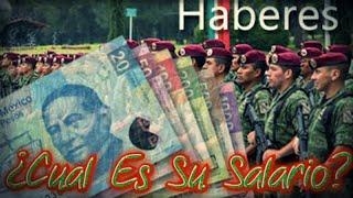 ¿Cuánto Gana Un Militar Del Ejército Mexicano? ACTUALMENTE (2018) (Datos De La SEDENA) 💲💲
