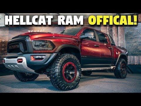 Beastly Ram Rebel Trx W Hellcat Engine Confirmed 2022 Release