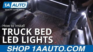 How to Install Truck bed Lights