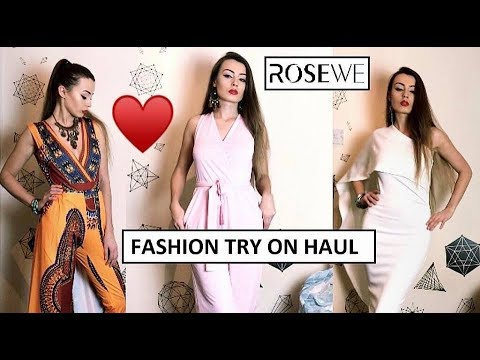 95caf84a8c0 ROSEWE HAUL REVIEW - YouTube