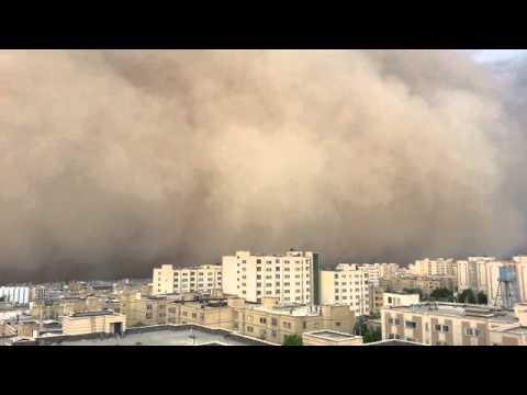 Tehran storm