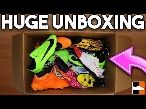 Ridiculously Big Football Boots Unboxing!