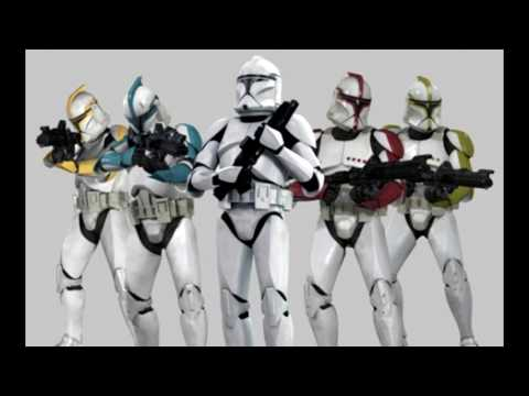 André Sogliuzzo as the Clone Troopers in Star Wars The Clone Wars
