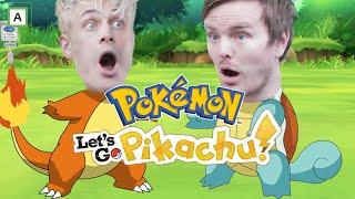 VICTOR OG ROBTHESIR PÅ POKEMONJAKT - Let's Go Pikachu 4
