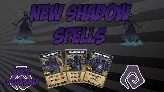 Wizard101: Casting the New Shadow School Spells!