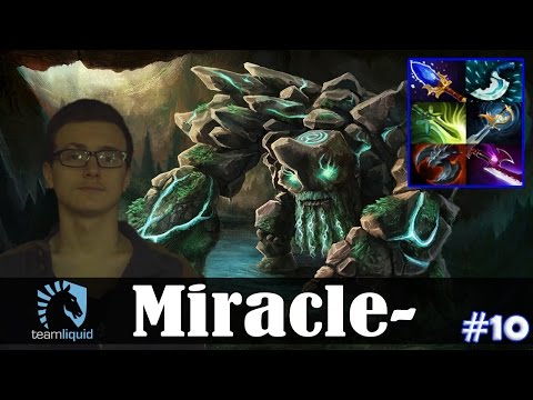 Miracle - Tiny MID | Dota 2 Pro MMR  Gameplay #10