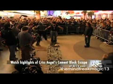 Criss Angel Mindfreak Walk On Screwdrivers