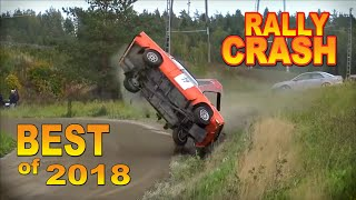 BEST OF RALLY CRASH 2018  by Chopito-Rally