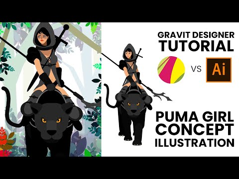 Gravit Designer Tutorial - Free alternative to illustrator  Feature Packed vector  design software thumbnail