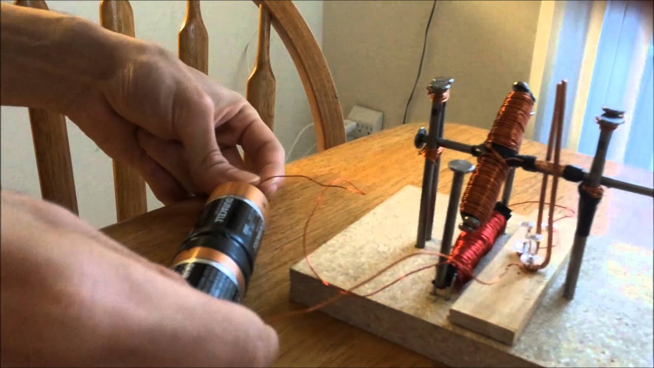 The Electric Motor With Split Ring Commutator Youtube