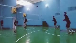 Волейбол нападающий удар обучение