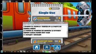 Hack de subway surfers con Cheat Engine 6.2 (2013) XD