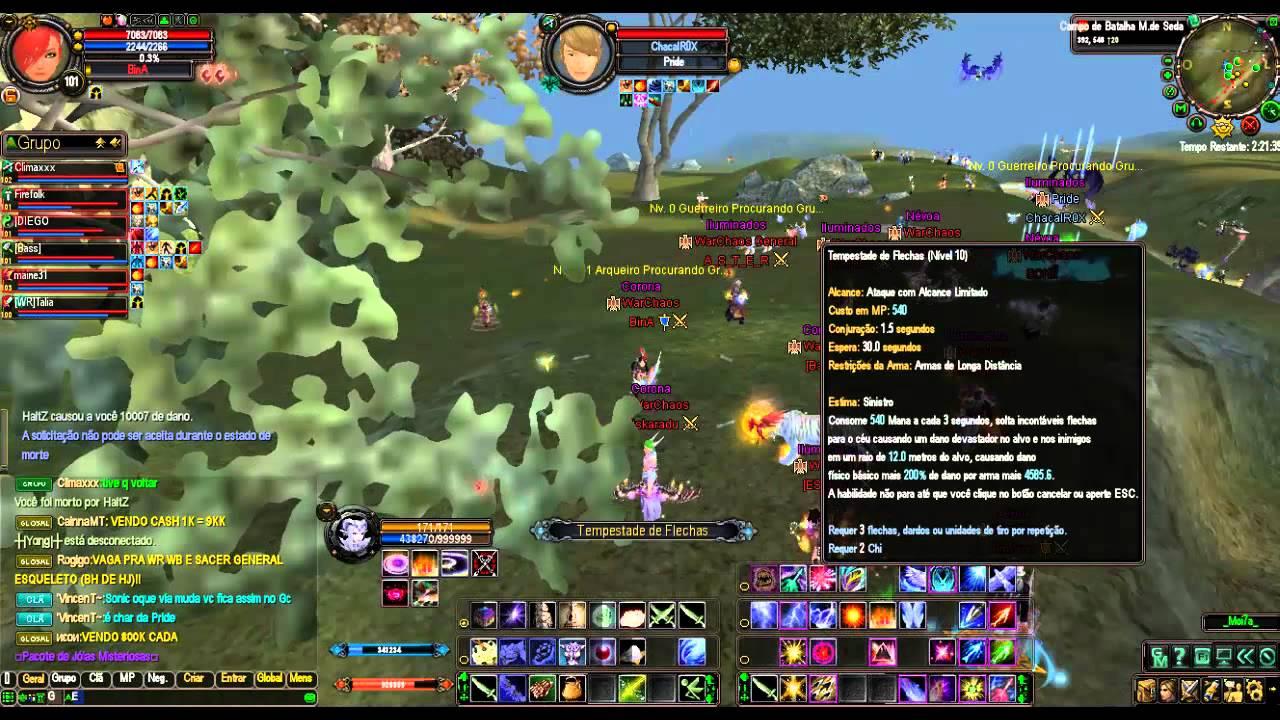 TW WarChaos Vs Pride 13/10/2012 Serv :Pegasus